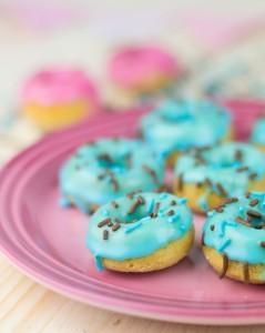 Receta Mini donuts al horno