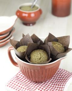 Receta Muffins veganos de espelta (receta baja en grasa, sin huevo y sin leche!!)