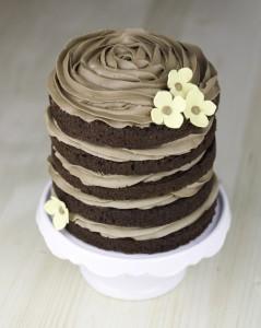 Receta (Mega) layer cake de chocolate negro con nutella para celebrar que ¡¡¡ya ha salido mi libro a la venta!!!