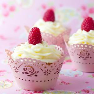 Receta Enamorada a los 27 (Cupcakes de Limón y Frambuesas de Peggy Porschen, ¡adaptada para 4 cupcakes!)