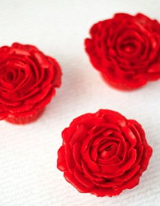 Receta Cupcakes de chocolate doble para Sant Jordi