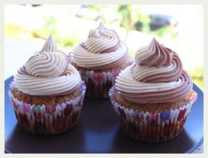 Receta Día de paella y cupcakes de platano