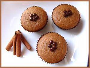 Receta ¡¡Muffins de canela!!