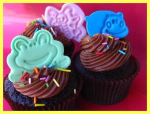 Receta Hershey´s cocoa + Nutella + dark chocolate = ¡¡cupcakes superchocolateados!!