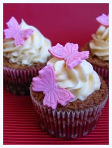 Receta Nuevo invento: Cupcakes de brownie de chocolate blanco, ¡¡ñaaaam!!