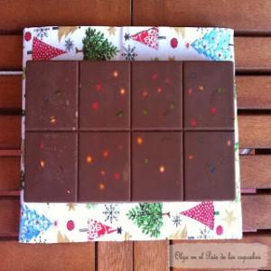 Receta Mas dulces navideños: turrón de lacasitos, turrón de pasas y galletas shortbread millionaire