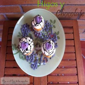 Receta Cupcakes de higos y chocolate