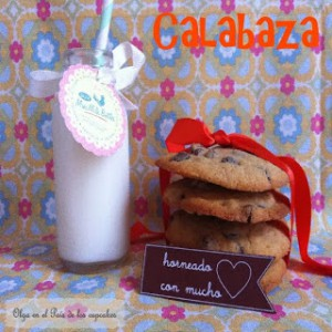 Receta Galletas de calabaza y chips de chocolate