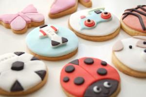 Receta Cajita de galletas para tres hermanos