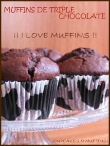 Receta ¡¡ I LOVE MUFFINS !!