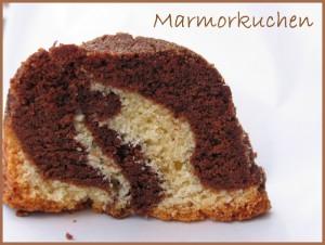 Receta Marmorkuchen