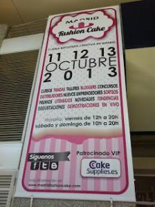 Receta Madrid Fashion Cake