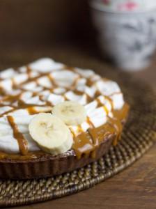 Receta Banoffe Pie (Platano + nata + dulce de leche = AMOR!)
