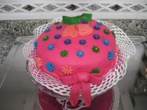 Receta Tarta floral