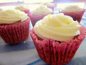 Receta Apple-Carrot Cupcakes