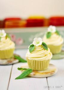 Receta Cupcakes coco y menta, tutorial flores y lanzamiento del libro… Se me acumula el trabajo!!!