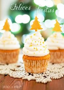 Receta Cupcakes de jengibre e higos