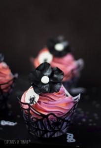 Receta Mi Halloween en estado puro: Cupcakes de calabaza con chocolate y pistachos