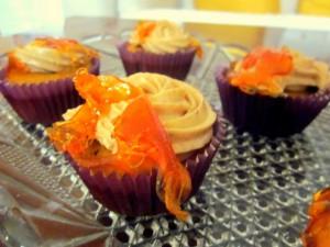 Receta Cupcakes de calabaza y beurre noisette con frosting de canela