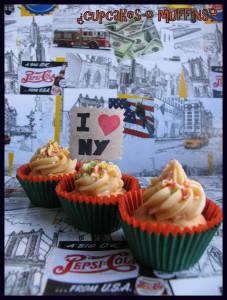 Receta Cupcakes de crema de cacahuete, ¡¡ñamiiii!!