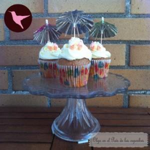 Receta Hummingbird cupcakes