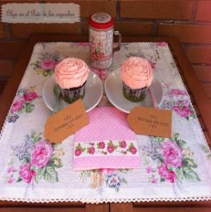 Receta Decoración con manga pastelera en forma de rosa