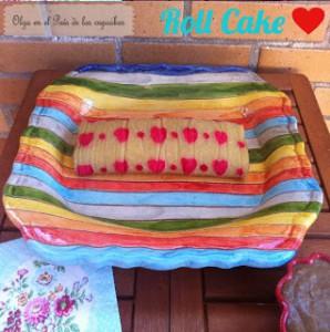 Receta Roll Cake Estampado