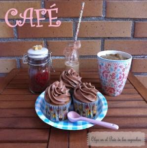 Receta Cupcakes de café y chocolate