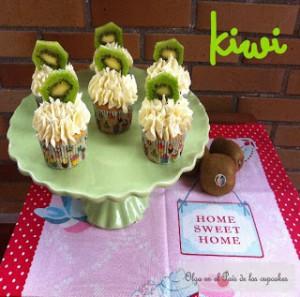 Receta Cupcakes de Kiwi