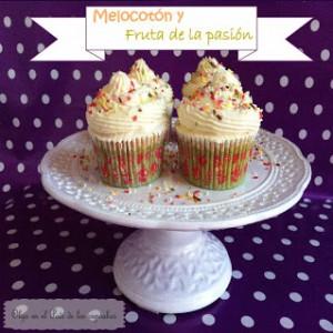 Receta Cupcakes de melocotón y maracuyá
