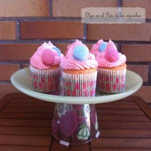 Receta Cupcakes de chicle