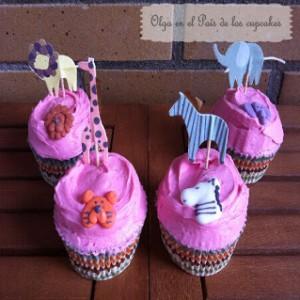 Receta Cupcakes de helado de fresa