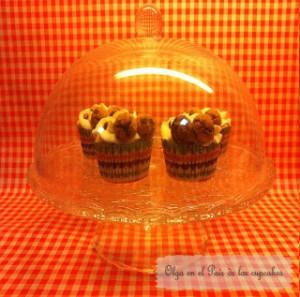 Receta Cupcakes de cookies