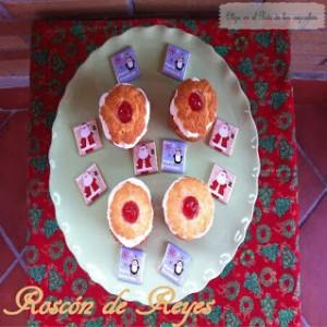 Receta Cupcakes de Roscón de Reyes y turron de cerezas