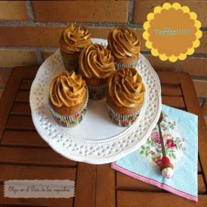 Receta Cupcakes de Toffee