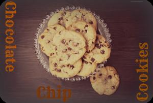 Receta Chocolate chip cookies