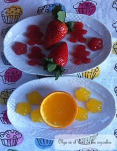 Receta Gominolas 100% fruta