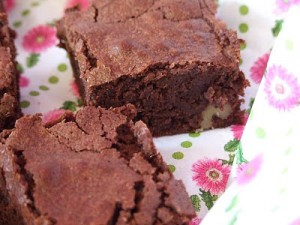 Receta BROWNIE DE CHOCOLATE