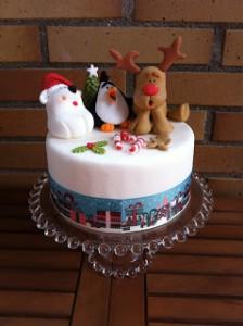Receta Tarta de Navidad