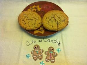 Receta Galletas con mantequilla de cacahuete y chips de chocolate