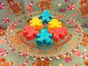 Receta Terrones de azúcar de colores
