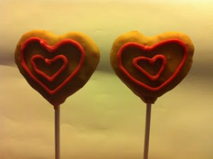 Receta Cakepops de San Valentín: de Fresa con chocolate
