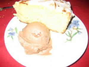 Receta Helado de chocolate