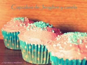 Receta Cupcakes de jengibre y canela, deliciosos!!