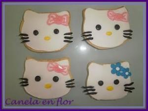 Receta Hello Kitty