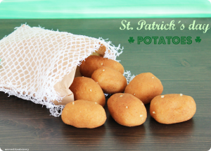 Receta Sweet «Potatoes» St. Patrick´s day