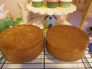 Receta Recetas de bizcochos para tartas con fondant