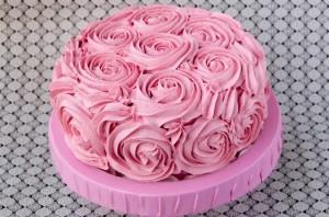 Receta Otra vez, la tarta de las rosas