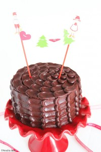 Receta Tarta de chocolate al Baylis y cena de Nochebuena