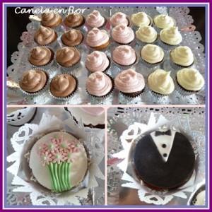 Receta Cupcakes de boda